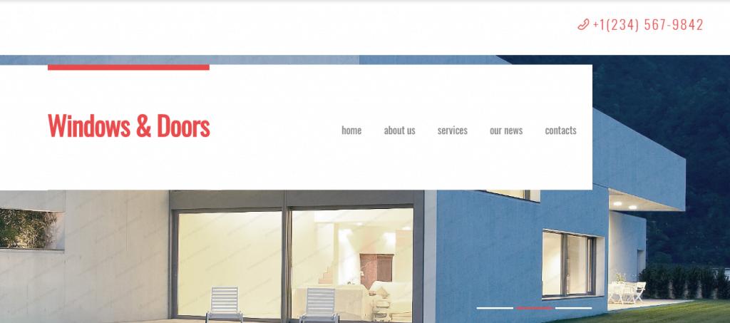 Window-Decor - 60+ HTML Interior & Furniture Website Templates [year]