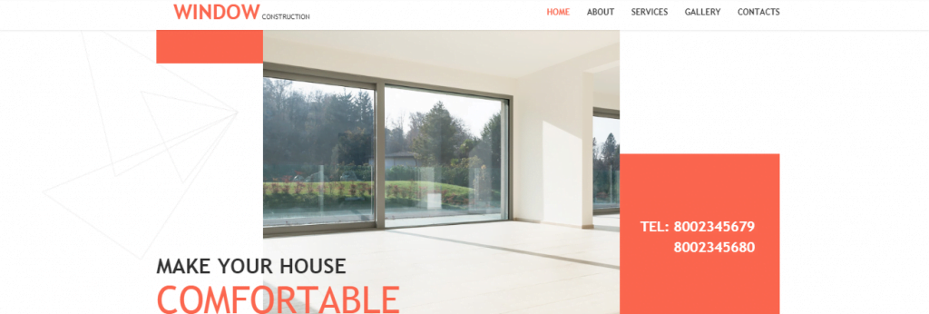 Windows - 60+ HTML Interior & Furniture Website Templates [year]