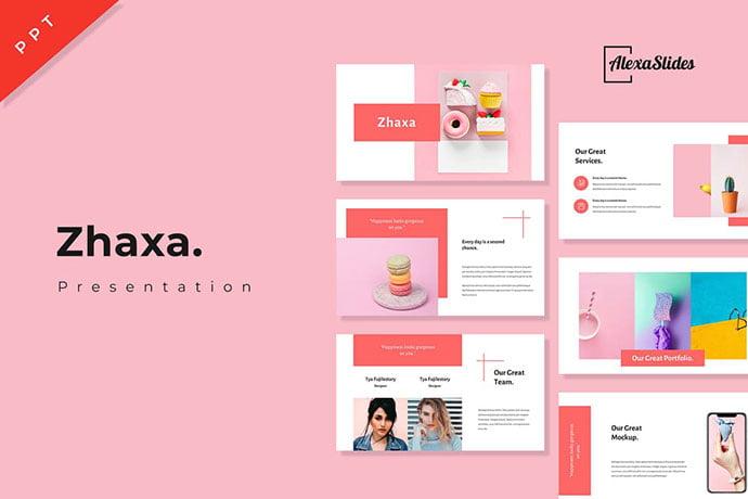 Zhaxa - 35+ Blast of Bright PowerPoint Templates [year]