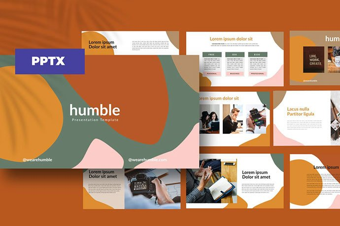 humble - 35+ Blast of Bright PowerPoint Templates [year]