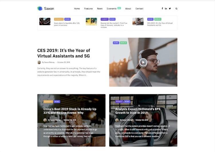 kij - Top 60+ News Magazine WordPress Themes [year]