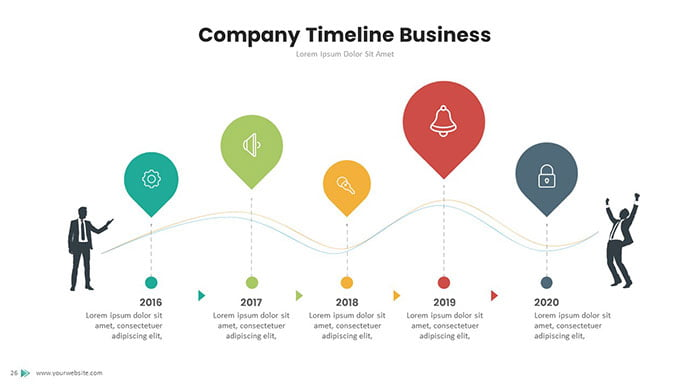 timeline-powerpoint-template-2 - 30+ Wonderful Timeline PowerPoint Templates [year]