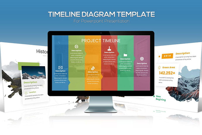 timeline-powerpoint-template-3 - 30+ Wonderful Timeline PowerPoint Templates [year]