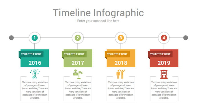 timeline-powerpoint-template - 30+ Wonderful Timeline PowerPoint Templates [year]