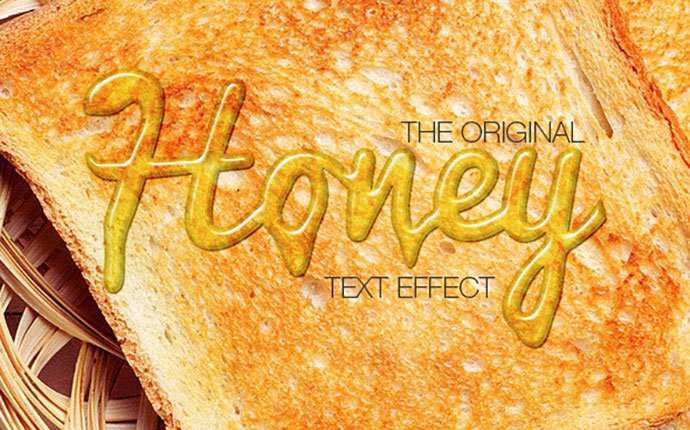 yy - 35+ Tasty Food & Drink Photoshop Text Effects