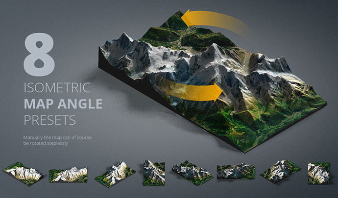 3D-Map-Generator - 41+ Necessary Free Photoshop Plugins & Actions For Designer [year]