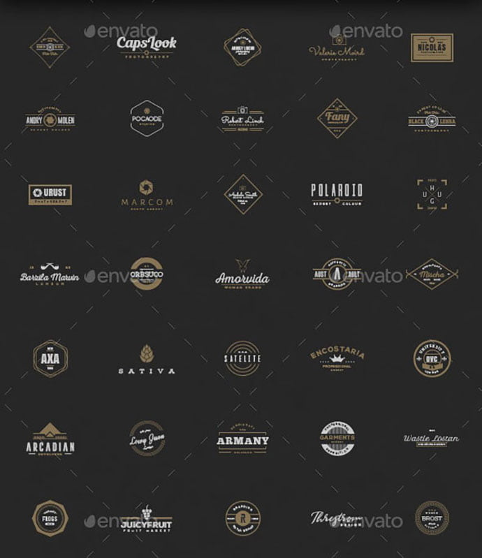 50-Authentic - 31+ Awesome Watermark Photographer Logo Templates [year]