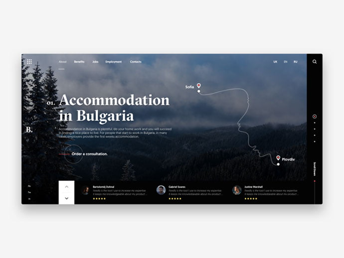 Accommodation-in-Bulgaria - 46+ Free Inspiration of Travel Web UI Designs [year]
