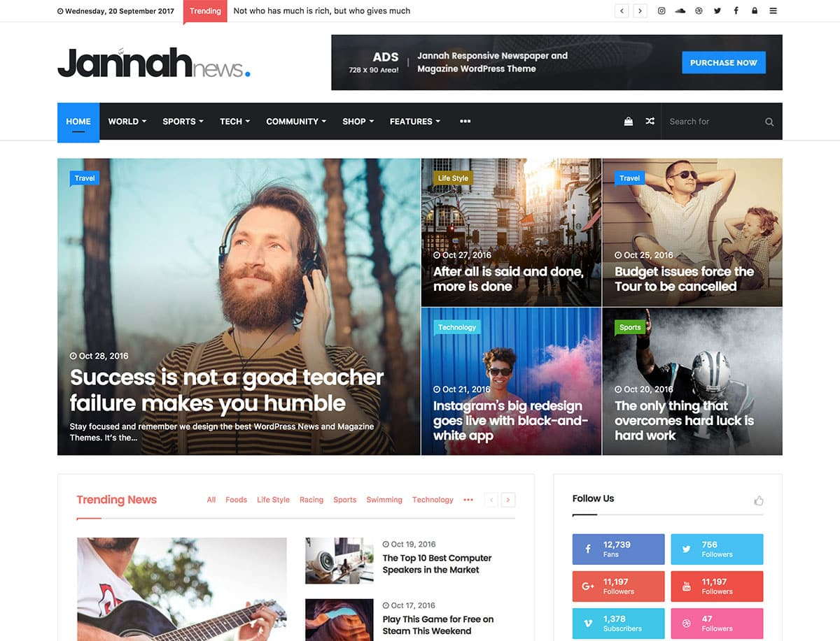 Adsense-Optimized-WordPress-Themes - 31+ Top WordPress Themes For Best Adsense Optimized [year]