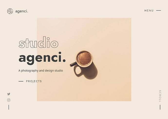 Agenci - 35+ Awesome Twitter Bootstrap Portfolio Site Templates