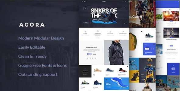 Agora - 31+ Multicolor WordPress eCommerce Themes [year]