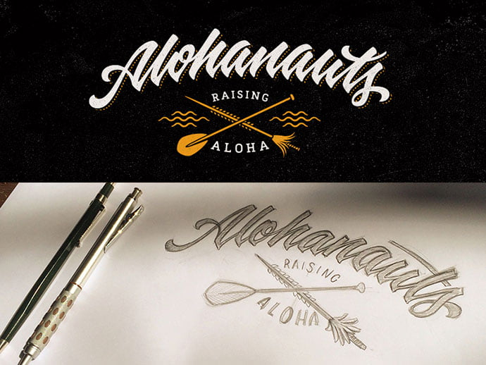 American-Microbrewers-Association - 36+ Amazing Free Hand Drawn Logo Designs For You [year]