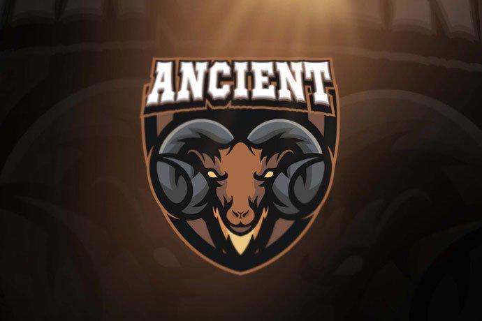 Ancient - 60+ Personal & Team Branding AI & EPS eSports Logo Templates [year]
