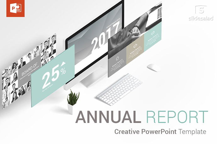 Annual-Report-Powerpoint-Templates - 35+ Attractive Annual Report Powerpoint Templates [year]