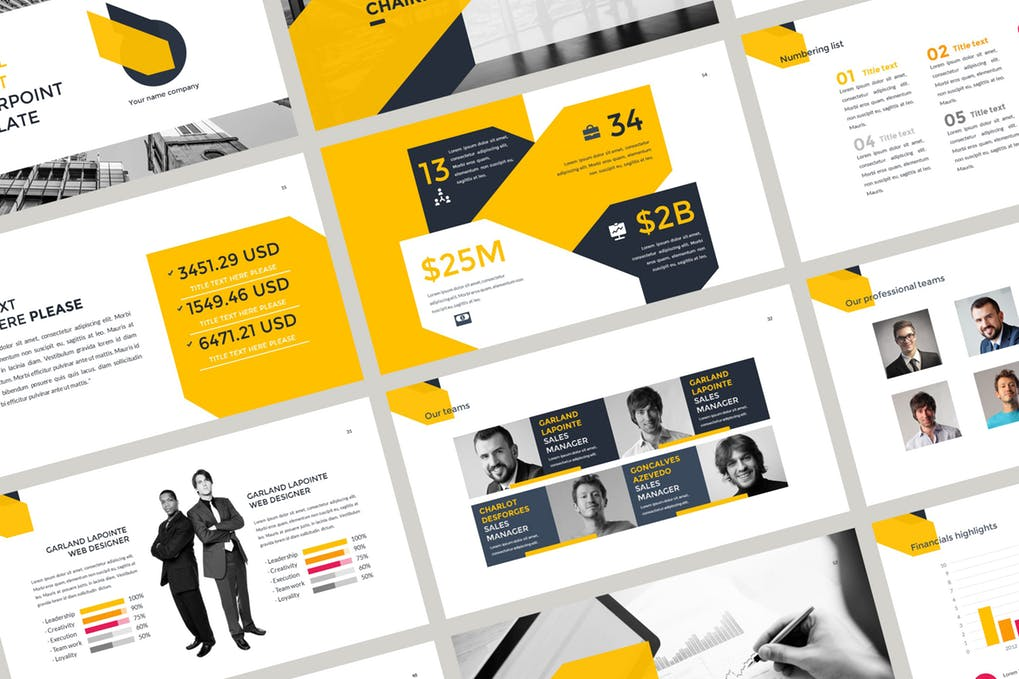 Annual-Report-Presentation - 35+ Attractive Annual Report Powerpoint Templates [year]