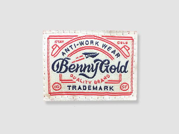Anti-Work-Wear-by-David-M.-Smith - 50+ Fantastic BEST FREE Typographic Logo Badge Designs