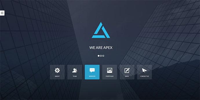 Apex - 30+ BEST Blue WordPress Themes [year]