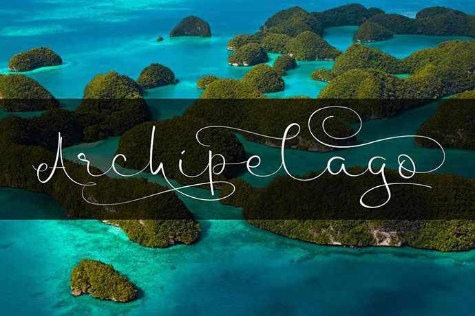 Archipelago - 51+ Stunning Travel Theme Designs Fonts For Your Website [year]