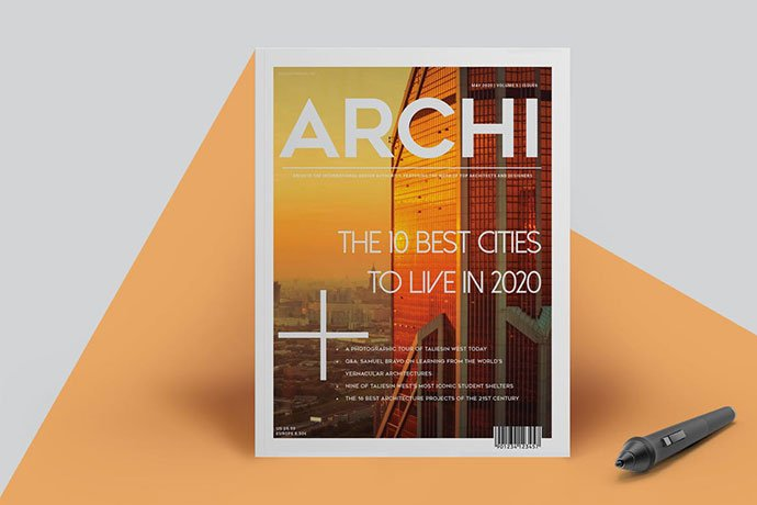 Architecture-1 - 50+ Awesome Interior Magazine InDesign Templates [year]