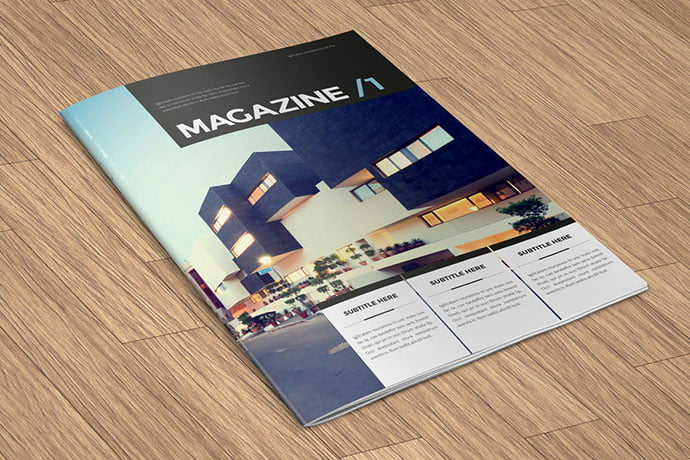 Architecture-2 - 50+ Awesome Interior Magazine InDesign Templates [year]
