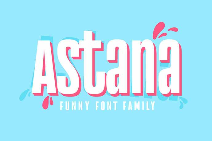 Astana-Font - 51+ Stunning Travel Theme Designs Fonts For Your Website [year]