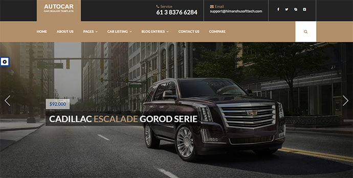 Auto-Car - 36+ Top WordPress Vehicle & Transportation Themes [year]