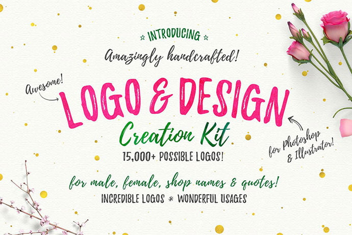 Awesome - 35+ Lovely Watercolor Logo Designs [year]