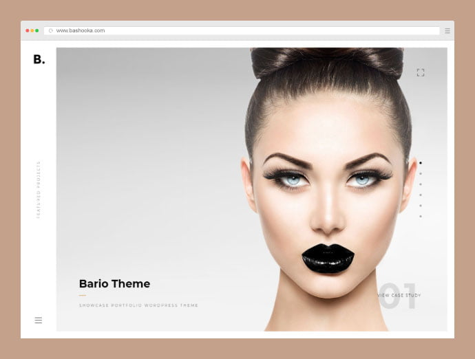 Bario - 35+ Compelling Case Study WordPress Themes [year]