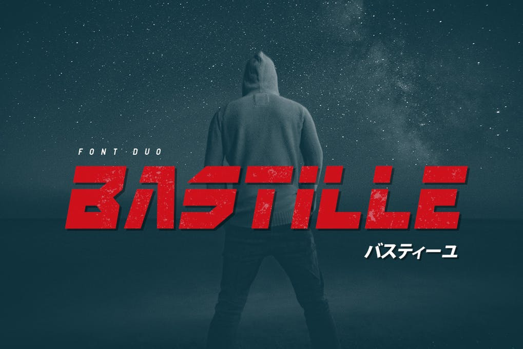 Bastille - 51+ All Caps Fonts For Your Unique Personality Headline Website [year]