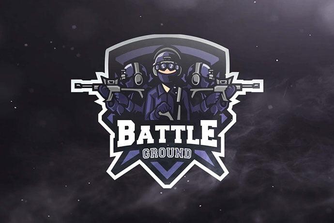 Battle-Ground - 60+ Personal & Team Branding AI & EPS eSports Logo Templates [year]