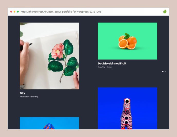 Benue - 30+ Awesome Showcasing Illustrations WordPress Themes [year]