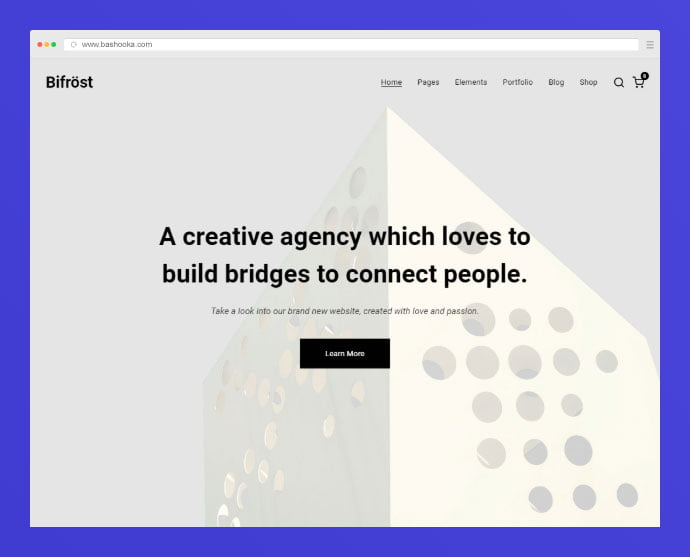 Bifrost - 35+ Compelling Case Study WordPress Themes [year]