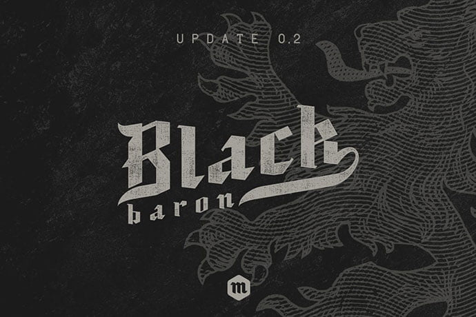 Black-Baron - 30+ Marvelous Gothic Blackletter Fonts [year]