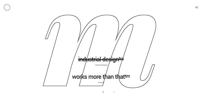 Blaze - 30+ Stunning Typography Portfolio WordPress Themes
