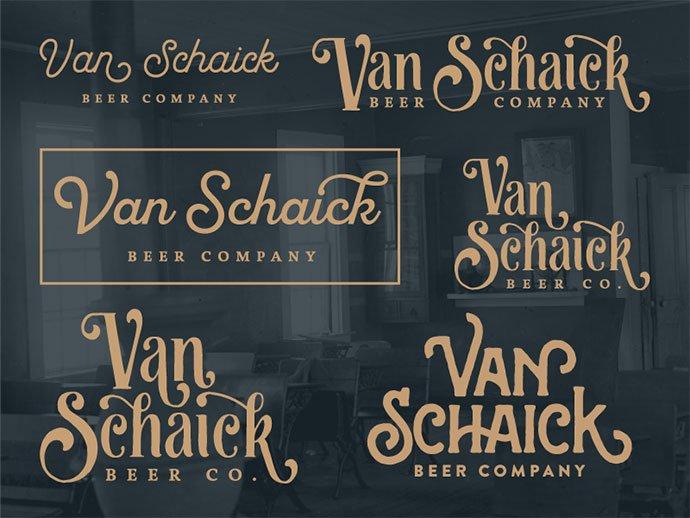 Brewery - 50+ Fantastic BEST FREE Typographic Logo Badge Designs