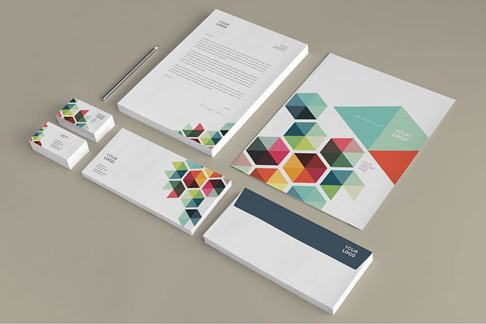 Business-Colorful - 35+ Remarkable Stationery Branding Design Templates [year]