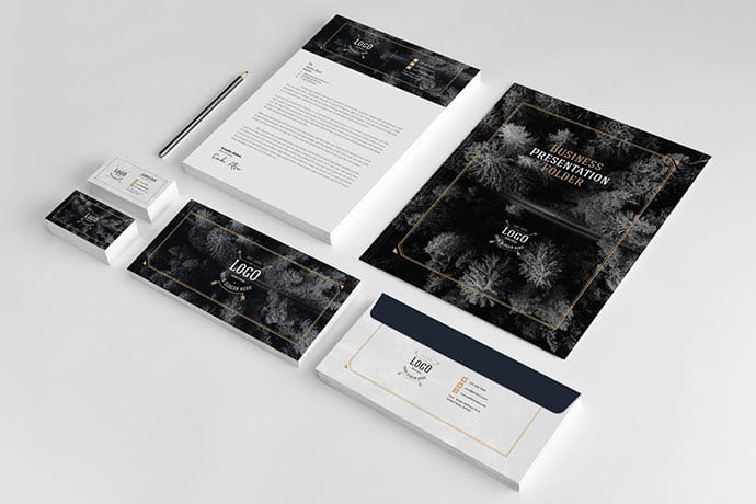 Business - 35+ Remarkable Stationery Branding Design Templates [year]