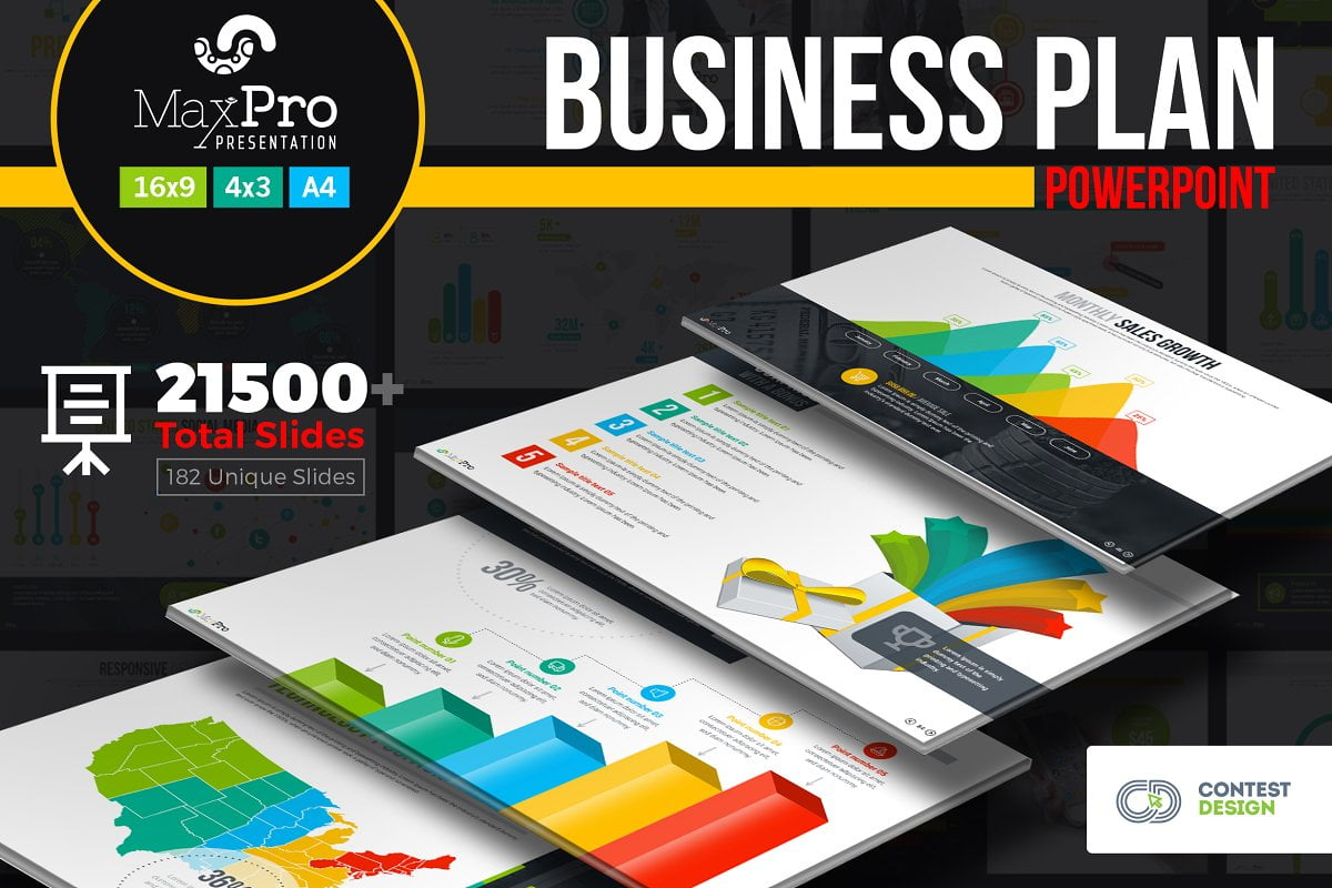 BusinessPlan - 35+ Attractive Annual Report Powerpoint Templates [year]