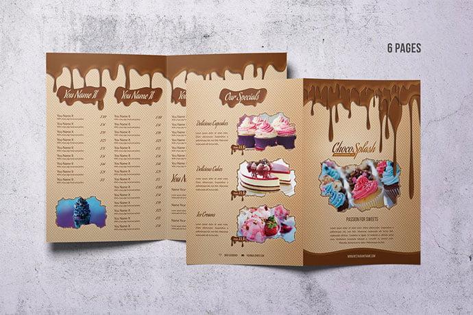 Cake-and-Bakery-Menu-Design - 35+ NICE Cake and Bakery Menu Design [year]