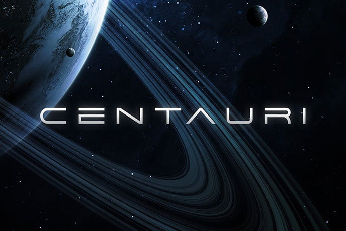 Centauri - 35+ Fantastic Science Fiction & Fantasy Fonts For You [year]