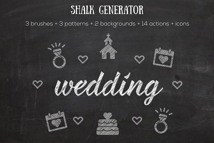 Chalk-Generator - 35+ Awesome Poster Design For Photoshop Actions [year]