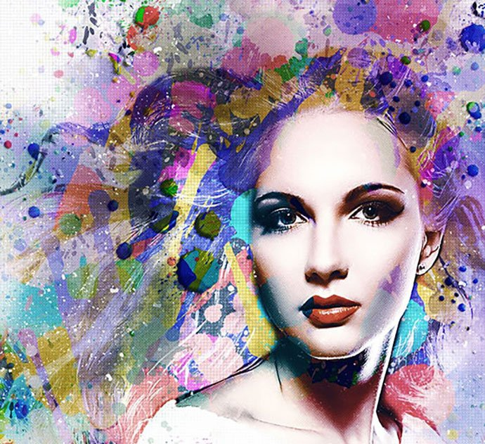 ColoreeXign-Art - 30+ Awesome Splatter Painting Effect Photoshop Actions [year]