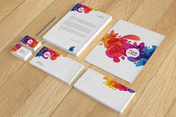 Colorful-Abstract - 35+ Remarkable Stationery Branding Design Templates [year]