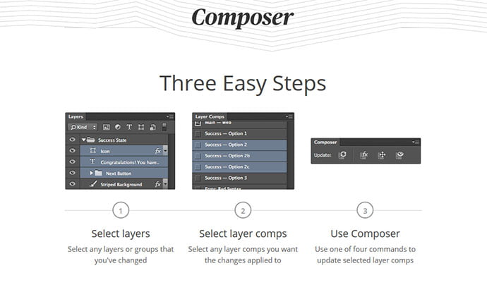 Composer-1 - 41+ Necessary Free Photoshop Plugins & Actions For Designer [year]