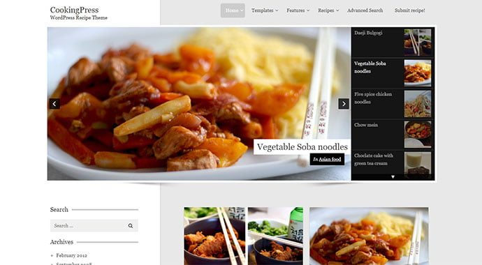 CookingPress - 36+ Delicious Cooking Idea Share WordPress Themes [year]