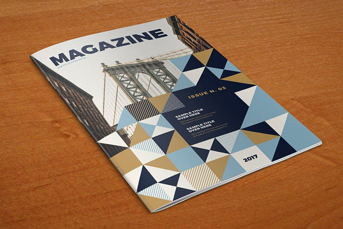 Cool-Pattern - 50+ Awesome Interior Magazine InDesign Templates [year]