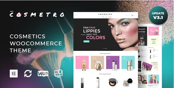 Cosmetro - 31+ Multicolor WordPress eCommerce Themes [year]