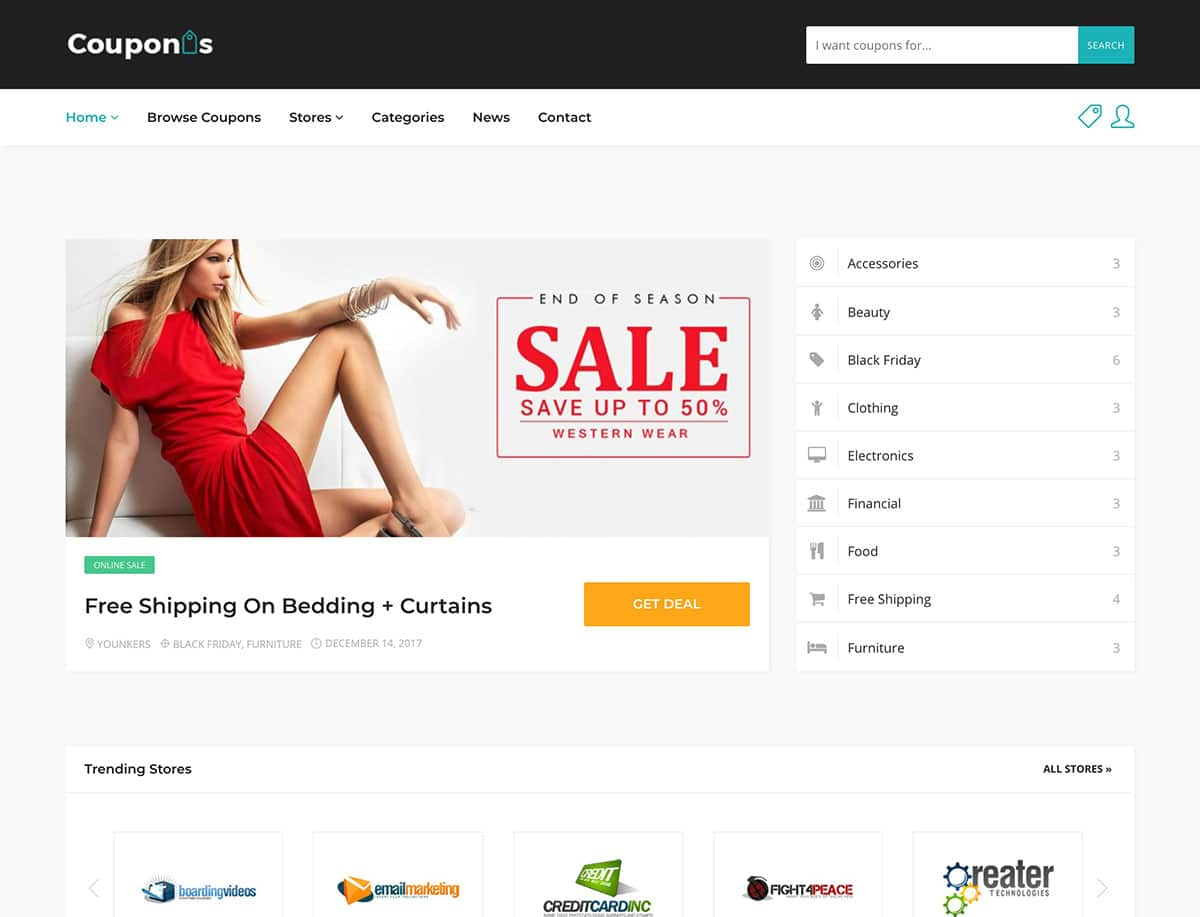 Couponis-1 - 26+ Amazing WordPress Coupon Themes and Plugins [year]