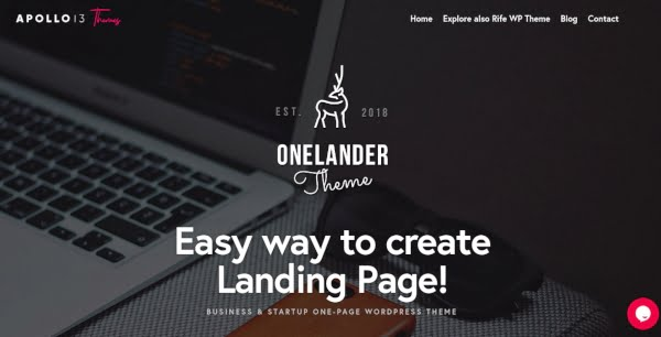 Creative - 37+ Amazing Best WordPress Landing Page Themes [year]