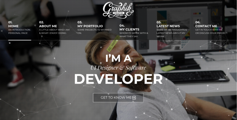 Creative - 41+ Awesome Parallax Landing Page Themes [year]